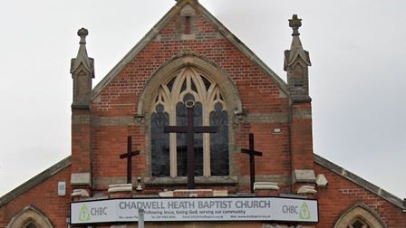 Chadwell Heath Baptist Church in the High Road. Picture: Google