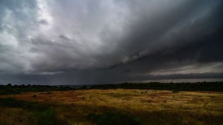 Rain is forecast for Suffolk and north Essex as the Met Office has issued a yellow weather warning Picture: CARL HARLOTT