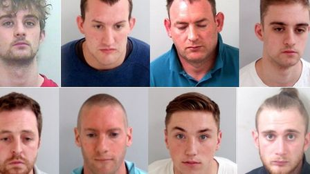 Simon's Dobbin's attackers were jailed for violent disorder and conspiracy to commit violent disorde