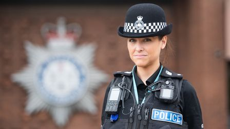 PC Mina Fernandez and her colleague PC Sophie Mitchell have been awarded by the Royal Humane Society
