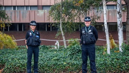 Pc Mina Fernandez and Pc Sophie Mitchell talked the man down from the Orwell Bridge in March and go