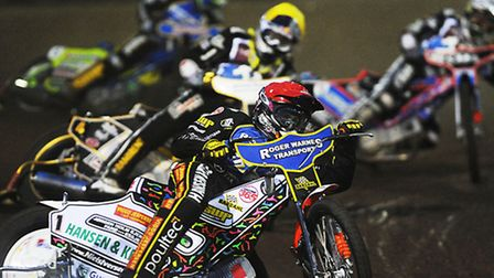 Stars' No.1 Niels-Kristian Iversen will be hoping to lead from the front again this evening. Picture