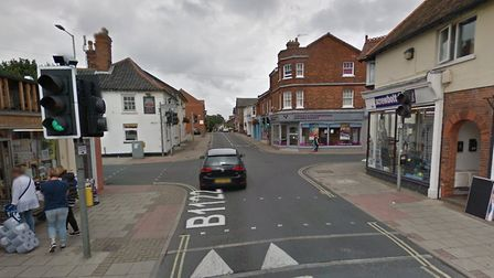 The assault happened in a property in Leiston High Street on Friday, October 16. Picture: GOOGLE MAPS
