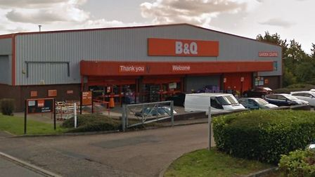 The Sudbury branch of B&Q is set to become a B&M discount store Picture: GOOGLE MAPS
