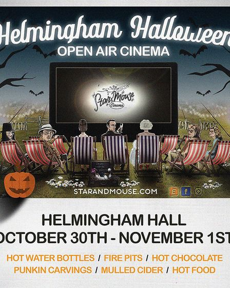 Helmingham Halloween is being organised by The Star & Mouse company. Picture: STAR AND MOUSE