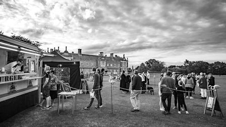 Three screenings will take place in the grounds of Helmingham Hall, organised by The Star & Mouse, t