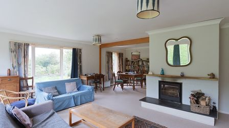 This mid-century bungalow in Bromeswell near Woodbridge is on the market at a guide price of £525,000. Picture: Clarke &...