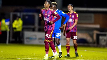 Tawanda Chirewa made his full Ipswich Town debut in the EFL Trophy match at Colchester United last N