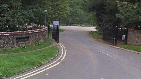 The alleged incident happened at Nowton Park, Bury St Edmunds Picture: GOOGLE MAPS