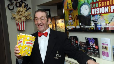 Mr Showbiz: Pat Church has been the face of cinemagoing in Bury for more than 50 years Photo: Phil