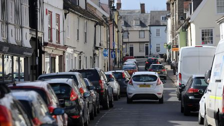 Churchgate Street in Bury St Edmunds is one of the areas where residents' parking has been an issue.