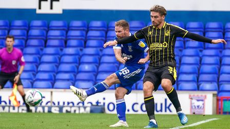 Alan Judge in action against Rovers two weeks ago.