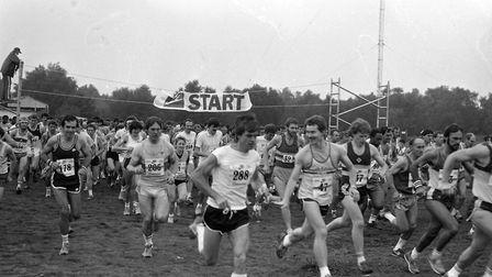Ipswich Marathon at Foxhall in September 1985 Picture: ARCHANT
