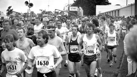 Were you a competitor in the Colchester Marathon in June 1987? Picture: ARCHANT