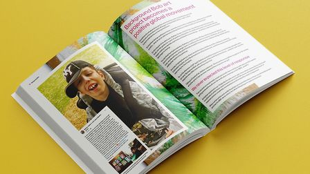 Noah's book will raise money for the children's department at Colchester Hospital. Picture: COURTESY