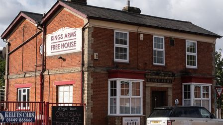 The Kings Arms Free House in Stowmarket is closing its doors permanently at the end of October. Pict