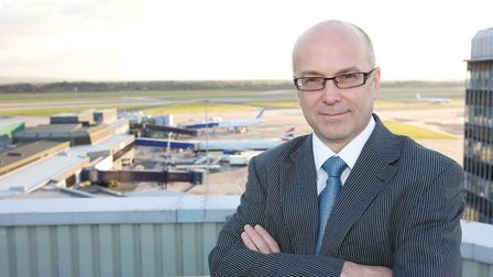 Charlie Cornish, chief executive of MAG, owner of Stansted Airport.