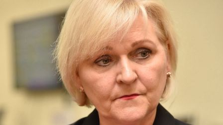 The East of England Ambulance Service's chief executive, Dorothy Hosein, is currently on sick leave,