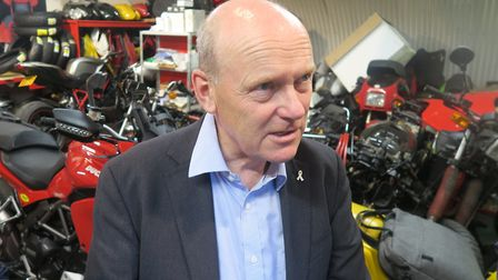 """Mayor John Biggs... """"Our lives have changed, which means the way we do business must change too."""" Pi"""