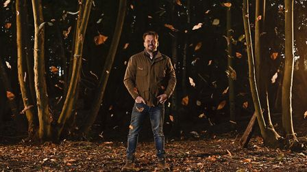 Wherstead-based Jimmy Doherty hopes his lastest series, Autumn at Jimmy's Farm, will help lift spiri