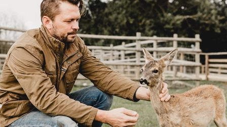 TV personality Jimmy Doherty will be appearing in Channel 4's Autumn at Jimmy's Farm from October 14