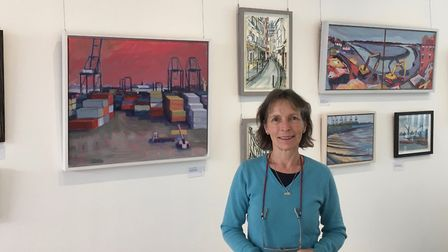 Wendy Brooke-Smith lives in Great Oakley and is raising money for Lymphoma Action through her Landscape for Life exhibition.