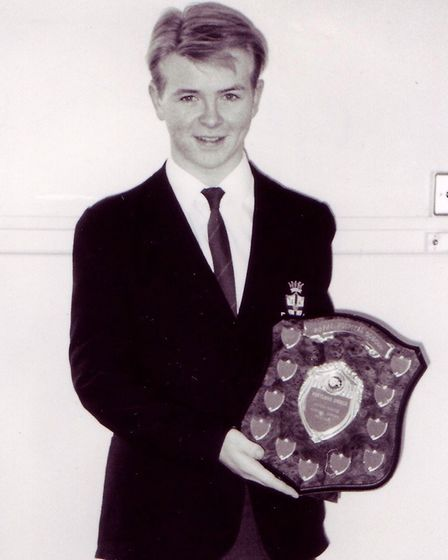 Jon Courtenay attended the Royal Hospital School between 1984 and 1991. Picture: JON COURTENAY