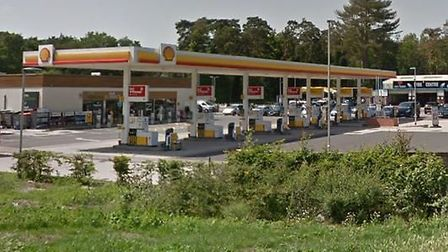 The Shell petrol station on the Fiveways Roundabout was defrauded of Red Bull and cigarettes Picture: GOOGLE MAPS