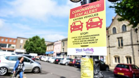 We spoke to people in Bury St Edmunds about the district being placed on the regional coronavirus watchlist Picture: SARAH...