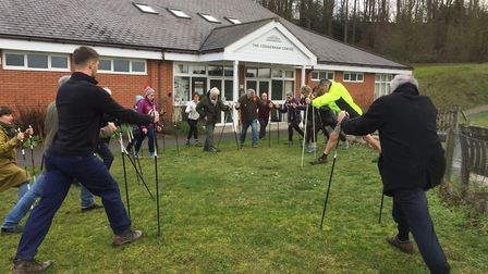 The Fit Villages scheme has welcomed its 1,000th participant in two years Picture: ACTIVE SUFFOLK
