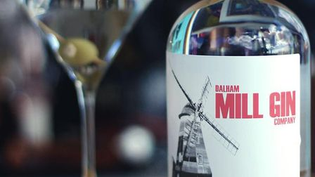 Buy gin from Dalham Mill at the Suffolk Farmers' Market at Trinity Park on October 17 2020 Picture: