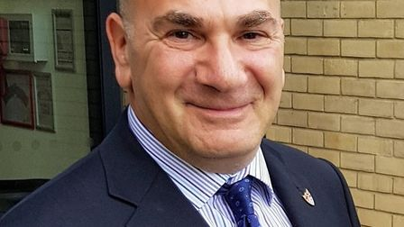 Steve Gallant, leader of East Suffolk District Council. Picture: EAST SUFFOLK DISTRICT COUNCIL