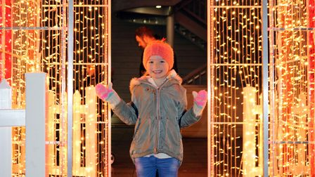 The Christmas lights switch-on event in Bury St Edmunds in 2019. This year's ceremony is not taking place due to...