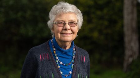 Helen Lewis has spent years supporting the village of Hollesley Picture: SARAH LUCY BROWN