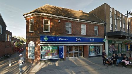 The Haverhill Boots store in Market Hill was broken into two nights in a row by thieves who smashed the glass front door.