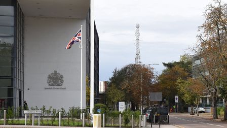 Anthony Crawley will stand trial at Ipswich Crown Court Picture: CHARLOTTE BOND