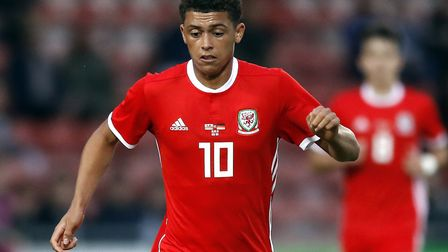 Brennan Johnson has been called up to the Wales senior squad. Picture: PA