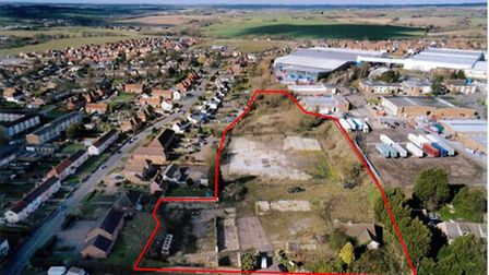 The planning application is for up to 45 homes in brownfield land off of Lady Lane in Hadleigh. Picture: PLACE FARM...