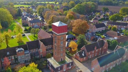 Property for sale in Melton, Woodbridge: Stunning water tower on market for £900k Picture: FENN WRIG