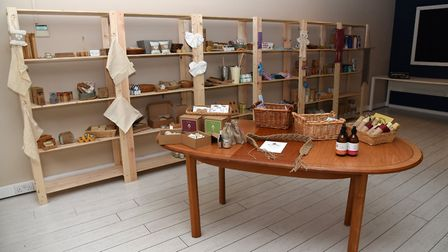 Inside the new Eco Refill store in Woodbridge, owned and managed by Tracey Goddard. Picture: CHARLOT