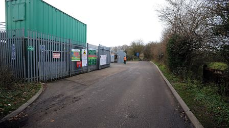 A member of the public has attempted to dispose of human bones at a Sudbury recycling centre Picture: PHIL MORLEY