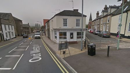 The assault happened on Saturday night in Bury St Edmunds on the corner of Out Westgate Street and Hospital Road. Picture:...