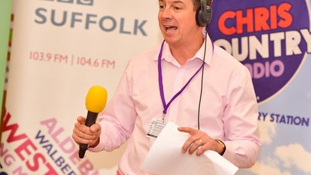 BBC Radio Suffolk presenter Luke Deal left his show early on Saturday after a fire broke out at his home Picture: SARAH...