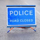 Both lanes were initially closed to traffic following a collision near Colchester Picture: SARAH LUCY BROWN