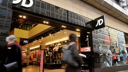 JD Sports is due to open a new store in Bury St Edmunds' Arc Shopping centre on November 21 Picture: PA/JOHN STILLWELL