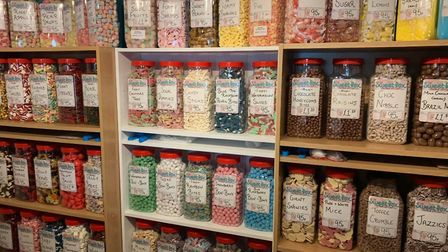The SweetBox has opened in the Market Place in Mildenhall. Picture: ELLIOTT PAPWORTH