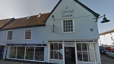 The former Pedal House at 55 High Street, Hadleigh, which is being transformed into the Fork Kitchen and Deli. Picture...