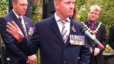 Trevor Coult served in the Irish Royal Regiment for 20 years and now suffers from PTSD Picture: TREV