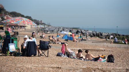 People flocked to Felixstowe's beaches to enjoy the soaring temperatures over the summer Picture: SA