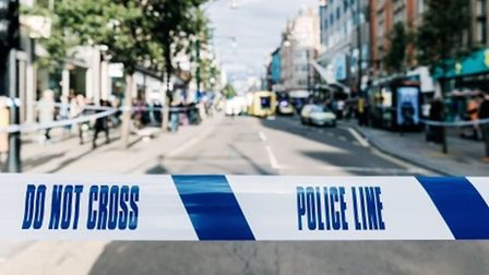 Police witness appeal to triple shooting in east London on Sunday, October 12, around 10.45pm. Pictu